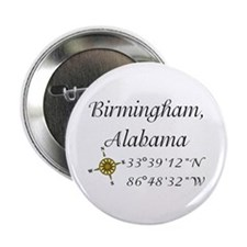 "Birmingham, Alabama 2.25"" Button"