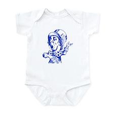 Mad Hatter Blue Infant Bodysuit