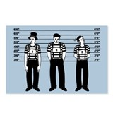Criminal Mimes Postcards (Package of 8)