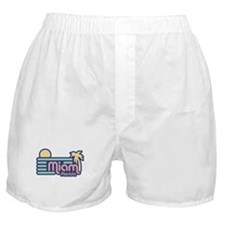 Miami Florida Boxer Shorts