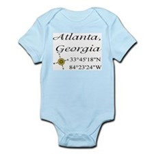 Geocaching Atlanta, Georgia Infant Bodysuit