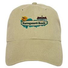 Narragansett RI - Surf Design Baseball Cap