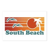 South Beach Postcards (Package of 8)