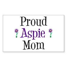 Proud Aspie Mom Decal