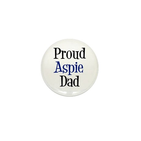 Proud Aspie Dad Mini Button