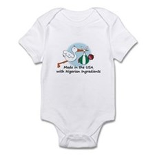 Stork Baby Nigeria USA Infant Bodysuit
