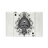 Funny Spades Rectangle Magnet (100 pack)