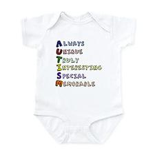 Autism Acronym Infant Bodysuit