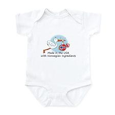 Stork Baby Norway USA Infant Bodysuit