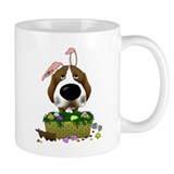 Beagle Happy Easter Small Mug