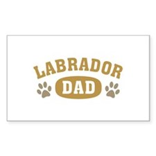 Labrador Dad Decal