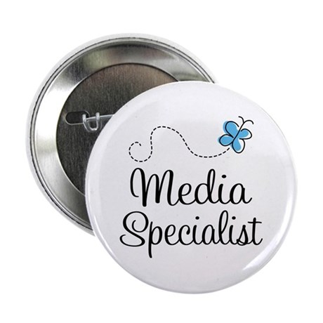 "Media Specialist 2.25"" Button"