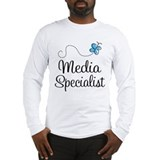 Media Specialist Long Sleeve T-Shirt
