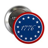 1776 - 13 Stars 2.25&quot; Button
