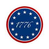 "1776 - 13 Stars 3.5"" Button (100 pack)"