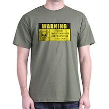 WARNING: Character Defects T-Shirt