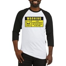WARNING: Character Defects Baseball Jersey