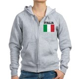 Cute World travel Zip Hoodie