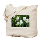 Cute White flower Tote Bag