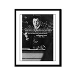 Comedy on Quantum Theory Framed Panel Print