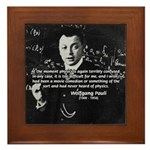 Comedy on Quantum Theory Framed Tile