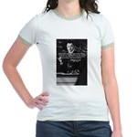 Comedy on Quantum Theory Jr. Ringer T-Shirt