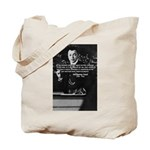 Comedy on Quantum Theory Tote Bag