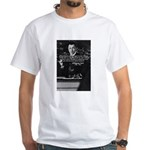 Comedy on Quantum Theory White T-Shirt