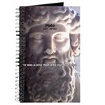 Humorous Greek Beer Quote Journal