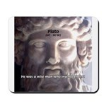 Humorous Greek Beer Quote Mousepad