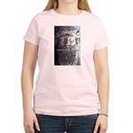 Humorous Greek Beer Quote Women's Pink T-Shirt
