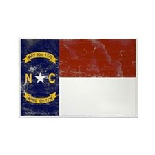 Vintage North Carolina State Rectangle Magnet