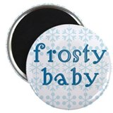 Cute Frosty Magnet