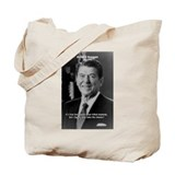 Reagan Quote on Hard Work Tote Bag