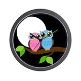 Owl love you Wall Clock