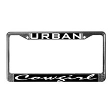 Unique Urban cowgirl License Plate Frame