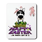 Husky - Happy Easter Mousepad