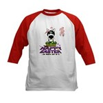 Husky - Happy Easter Kids Baseball Jersey