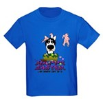 Husky - Happy Easter Kids Dark T-Shirt