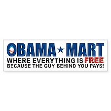 Obama Mart Bumper Sticker