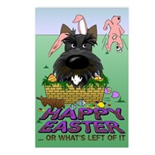 Scottie Happy Easter Postcards (Package of 8)