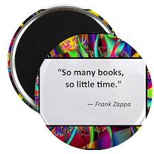 """So many books 2.25"""" Magnet (100 pack)"""