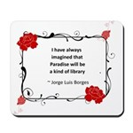 Paradise Library Mousepad