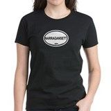 Narragansett RI Oval Design Tee