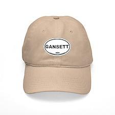 Narragansett RI Oval Design Baseball Cap