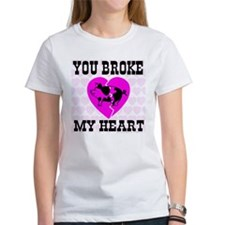 You Broke My Heart Pig Pretty Tee