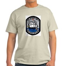 USS Detroit AOE 4 Ash Grey T-Shirt
