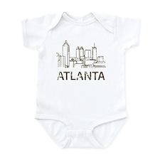 Vintage Atlanta Infant Bodysuit