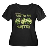 Easter Egg Hunter Women's Plus Size Scoop Neck Dar