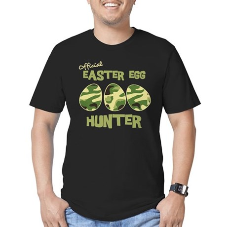 Easter Egg Hunter Men's Fitted T-Shirt (dark)